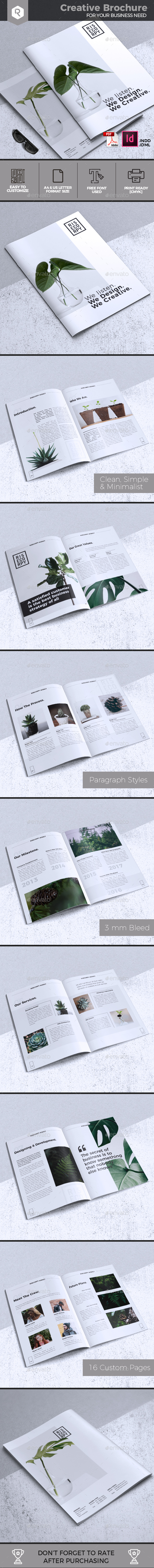 Creative Brochure Template Vol. 31 - Corporate Brochures