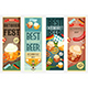 Oktoberfest Beer Festival Banners Set - GraphicRiver Item for Sale