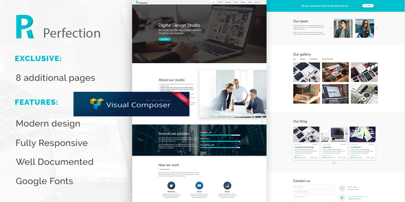Perfection - Business Multipurpose WordPress Theme