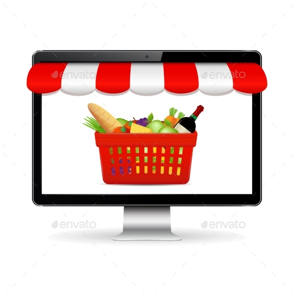 GraphicRiver Buy Food Online 20425578