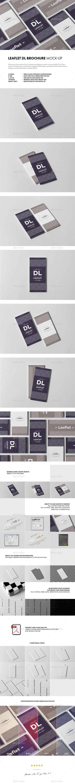 Leaflet DL Mock-up - Flyers Print