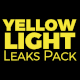 Yellow Light Leaks Pack - VideoHive Item for Sale