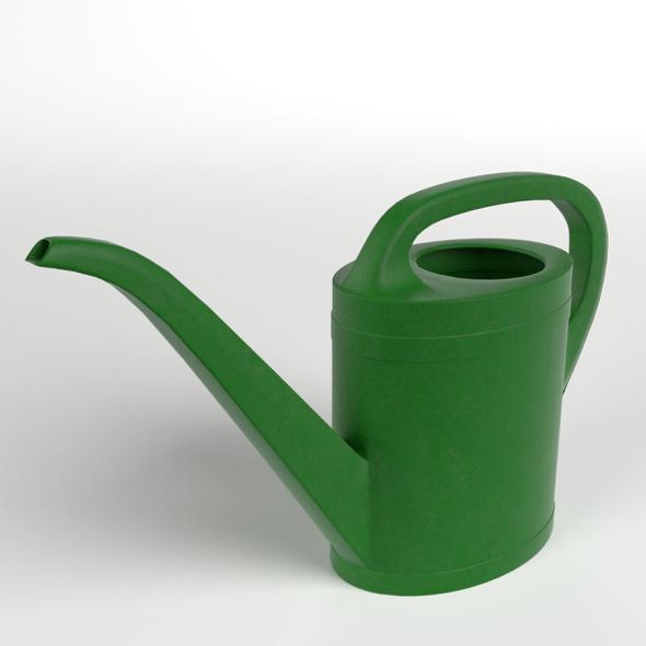 Small Watering Can - 3DOcean Item for Sale