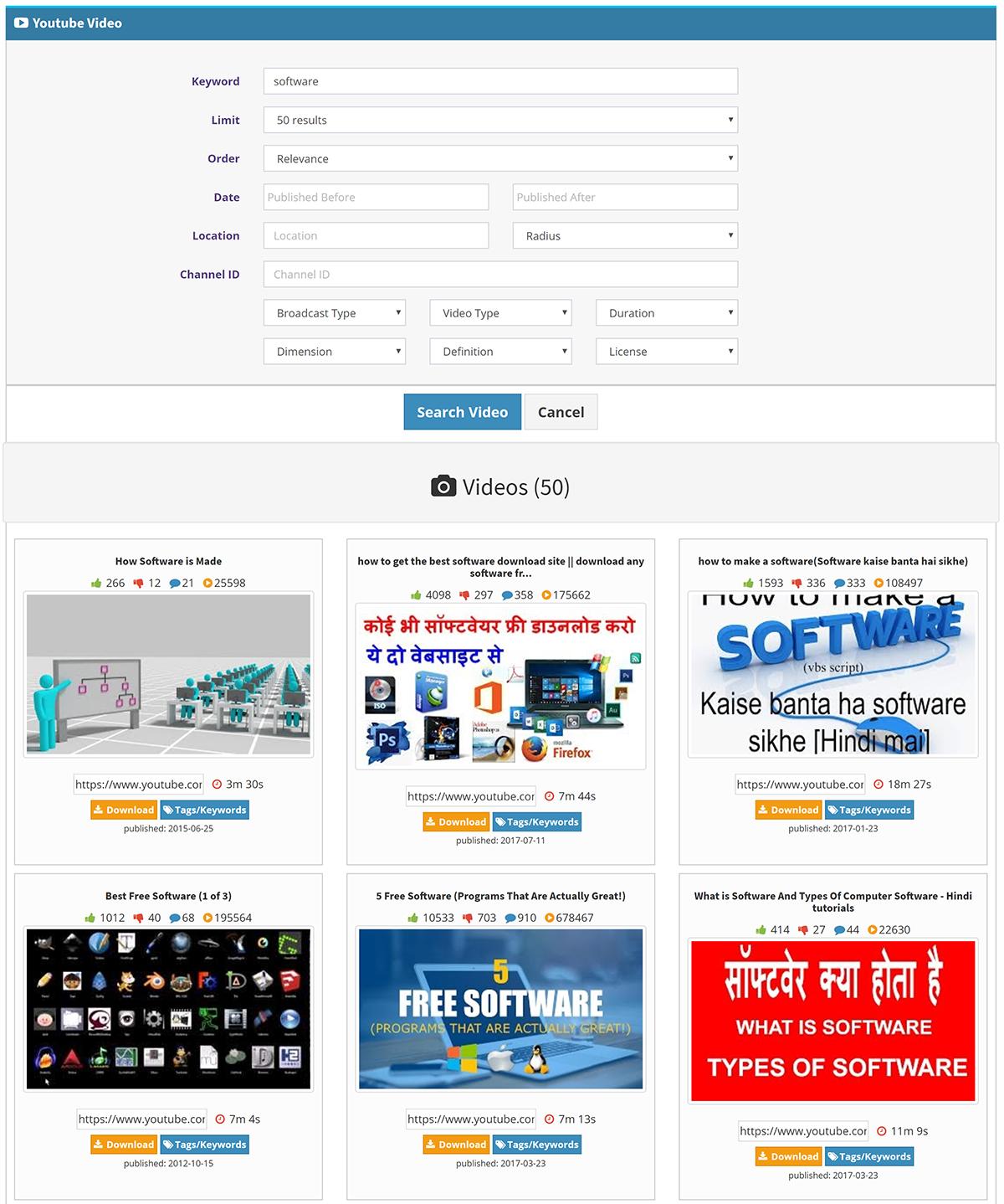 YTubeLytics – Youtube Analytics & Marketing Software