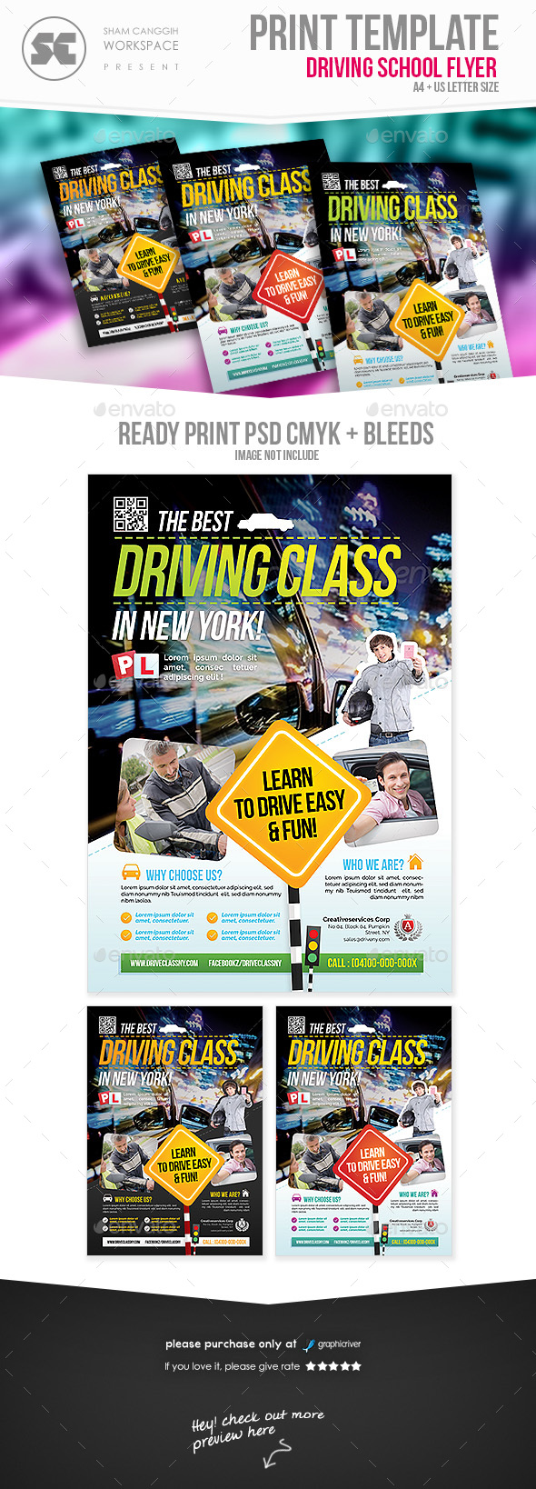 Driving Class Flyer - Miscellaneous Events