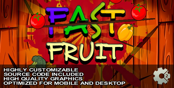 Fast Fruit - Game (Capx) - CodeCanyon Item for Sale