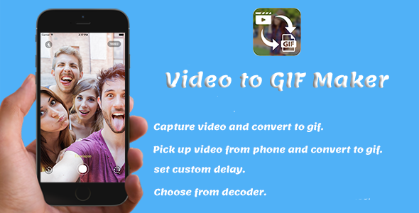 Video to GIF Maker + Android Studio Project + Admob Ads - CodeCanyon Item for Sale