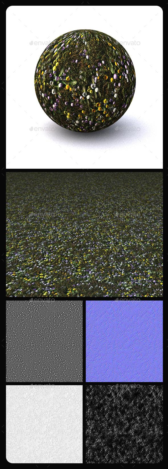 Grass Tile Texture 13 - 3DOcean Item for Sale