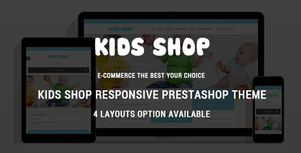 Image of Kids Shop - Responsive Prestashop Theme