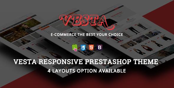 Vesta - Fashion Responsive Prestashop Theme