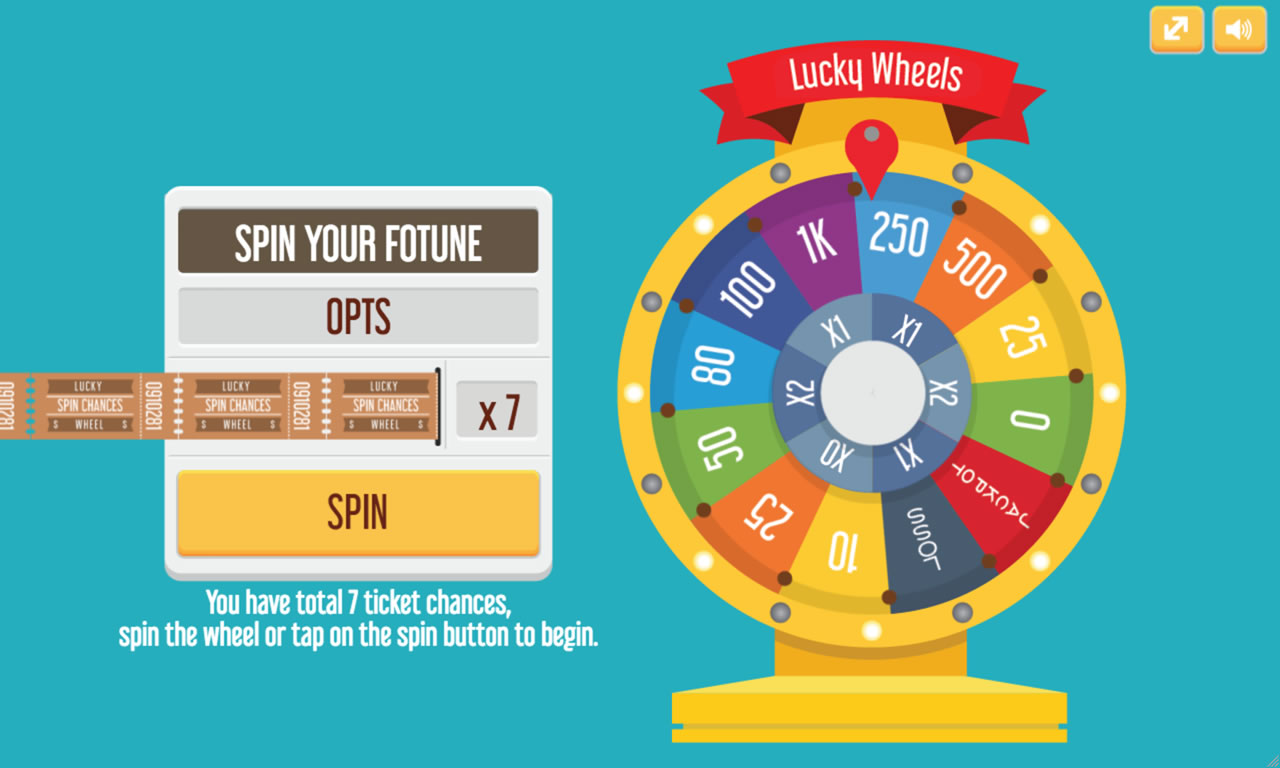 Lucky Wheels Html5 Game By Demonisblack Codecanyon