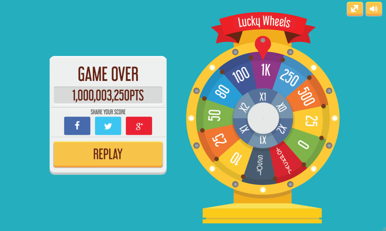 Lucky Wheels - HTML5 Game