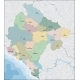 Map of Montenegro - GraphicRiver Item for Sale