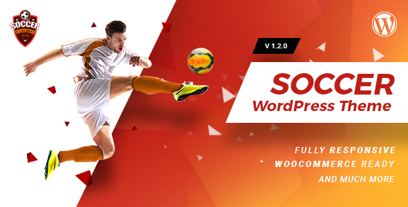 Soccerclub | Sports Club WordPress Theme Free Download