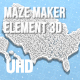 Maze Maker Element 3D