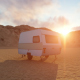 Caravan and Hills - VideoHive Item for Sale