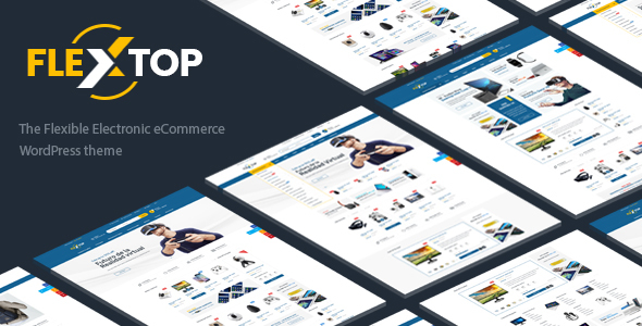 ThemeForest Flextop WooCommerce Responsive Digital Theme 20285543