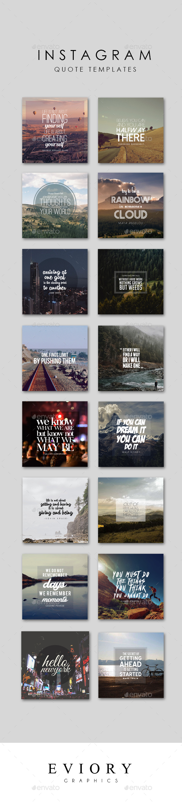 Instagram Quote Templates