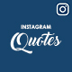 Instagram Quote Templates - GraphicRiver Item for Sale