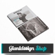 Kingsley A5 Portfolio Brochure - GraphicRiver Item for Sale