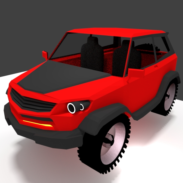 Concept Suv 4x4 4-wd - 3DOcean Item for Sale