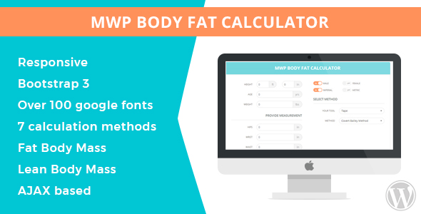 MWP Wordpress Body Fat Calculator - CodeCanyon Item for Sale