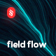 Neon Field Flow Backgrounds - GraphicRiver Item for Sale