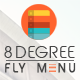 8 Degree Fly Menu - Responsive Off-Canvas Menu Plugin for WordPress