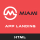 MAYA - Responsive App Landing Page - ThemeForest Item for Sale