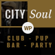 CitySoul Music WordPress Theme - Nightclub Party Bars Lounge