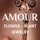 Amour - Shop WordPress theme - Flower - Jewelry - Handmade - Gift - ThemeForest Item for Sale