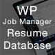 WP Job Manager - Resume Database