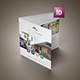 Real Estate Square Trifold Brochure - GraphicRiver Item for Sale