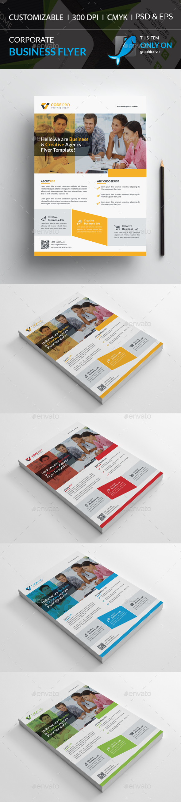 GraphicRiver Corporate Flyer 20429811
