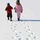Human Footsteps On Snow - AudioJungle Item for Sale