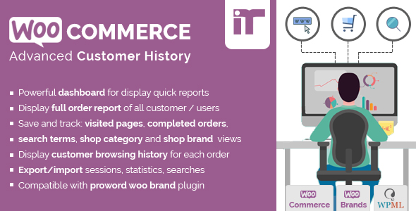 Woocommerce Customer History - CodeCanyon Item for Sale