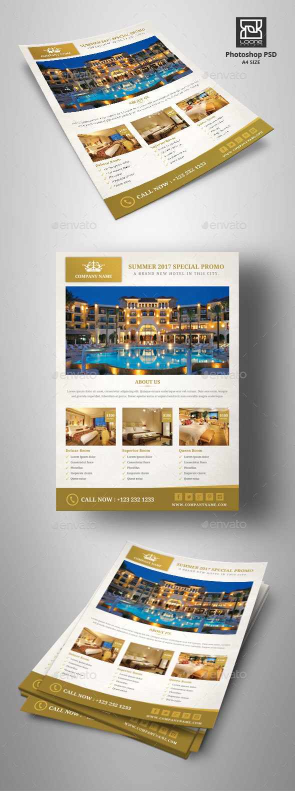 Hotel Flyer - Corporate Flyers