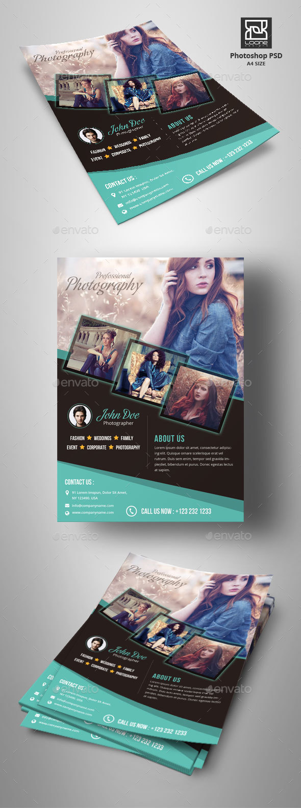 GraphicRiver Photography Flyer 20430126