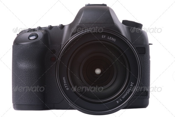 digital SLR camera - Stock Photo - Images