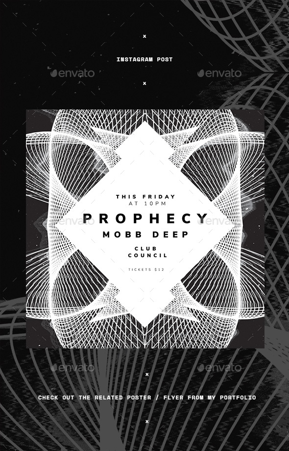 Prophecy Instagram Post