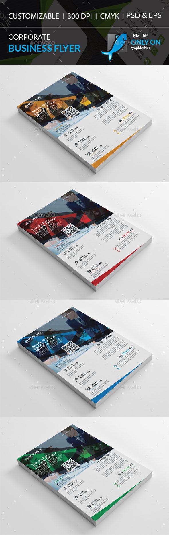 GraphicRiver Corporate Flyer 20430414