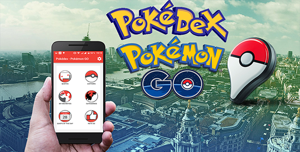 CodeCanyon Pokedex Guide Of Pokemon Go & Android & Studio Project AdMob Banner-Interstitial & Google Analytics 20430551