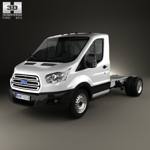 Ford Transit Cab Chassis 2014 - 3DOcean Item for Sale
