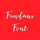 Fundam Typeface - GraphicRiver Item for Sale