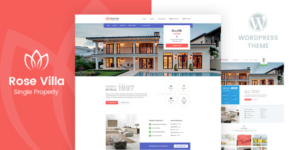 Rose Villa - Single Property WordPress Theme