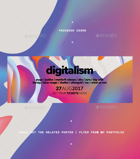 Digitalism Facebook Cover