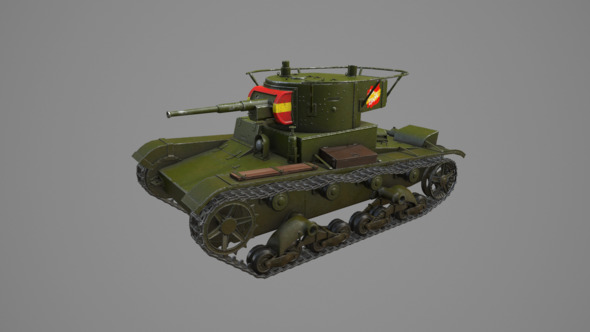 T-26 - 3DOcean Item for Sale