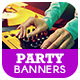 Party Ad Banner - GraphicRiver Item for Sale