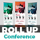 Business Conference Roll-Up