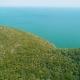 Aerial View Ocean Coastal Landscape